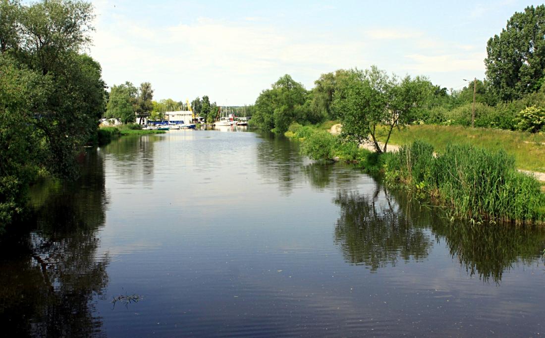 tereny rzeka Łarpia Police rewitalizacja