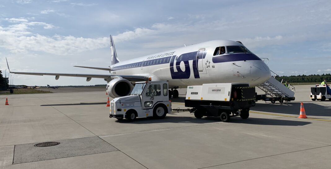 Goleniów Zadar połączenie lotnicze inauguracja lipiec 2020