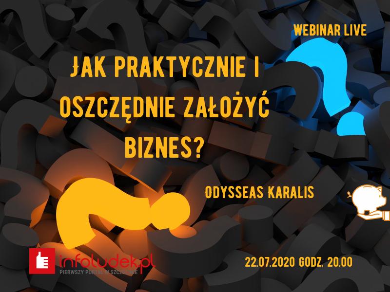 bezpłatny webinar biznes Odyseusz Karalis