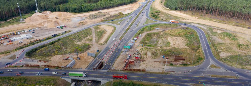 węzeł Kijewo pas ruchu zamknięcie lipiec 2020