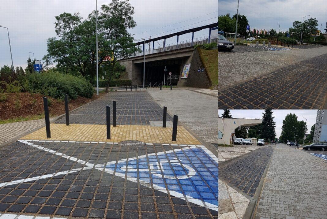 parking stacja kolejowa Zdroje