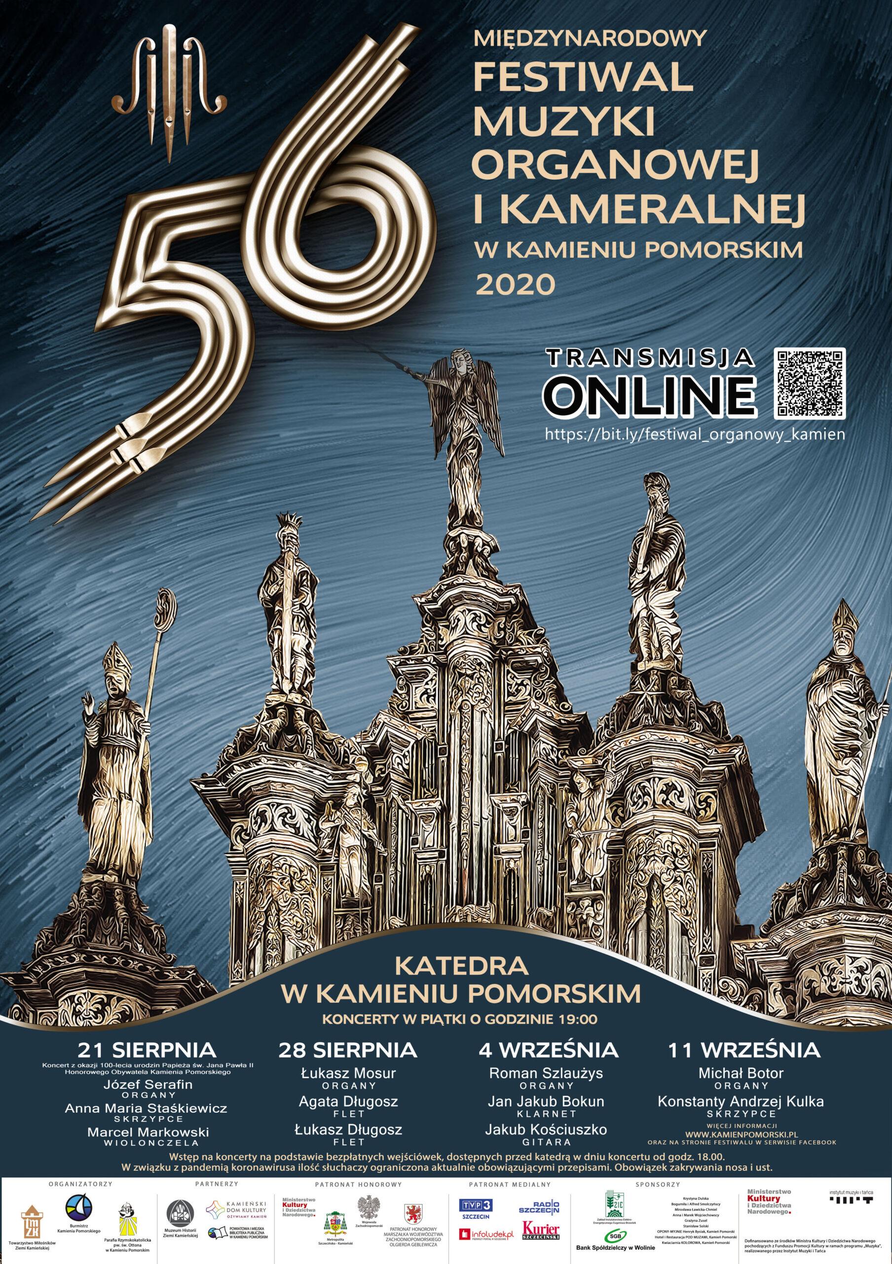 56. Międzynarodowy Festiwal Muzyki Organowej iKameralnej