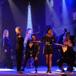 """spektakl """"Pod dachami Paryża"""" Teatr Polski Szczecin sierpień 2020"""