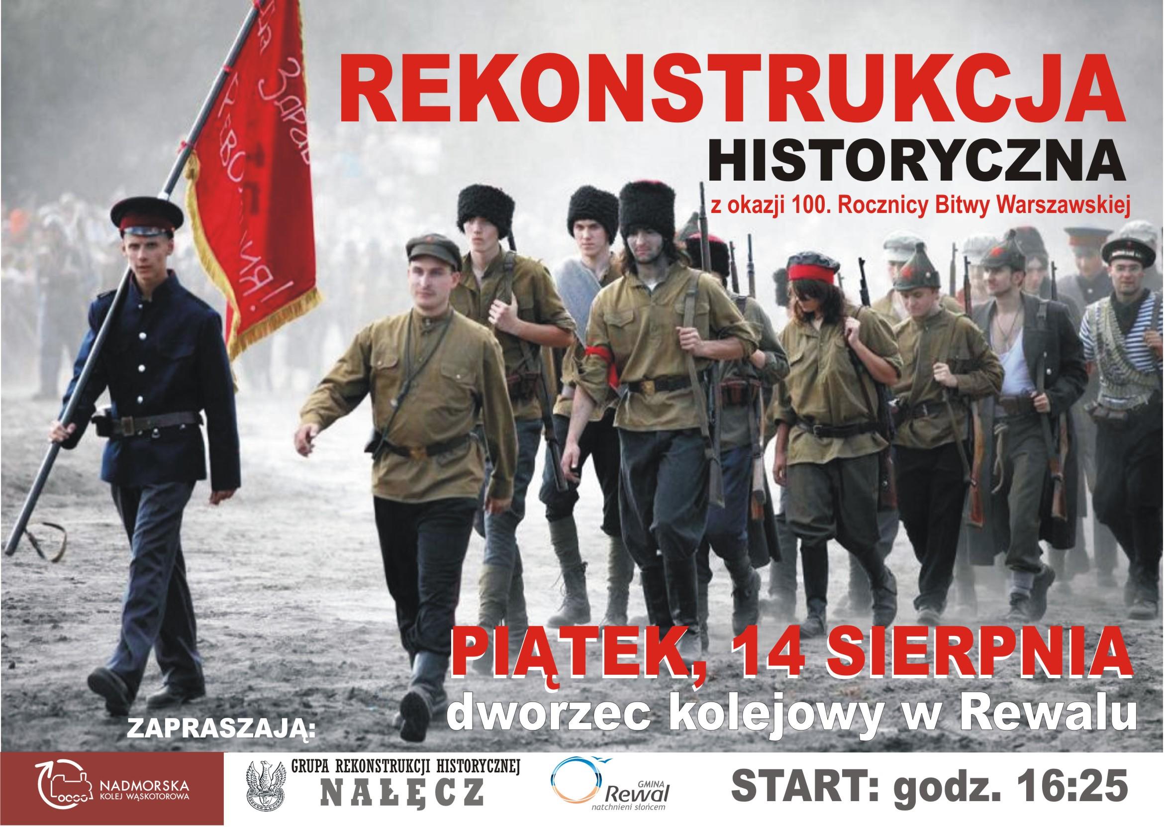 Rekonstrukcja historyczna z okazji 100. Rocznicy Bitwy Warszawskiej