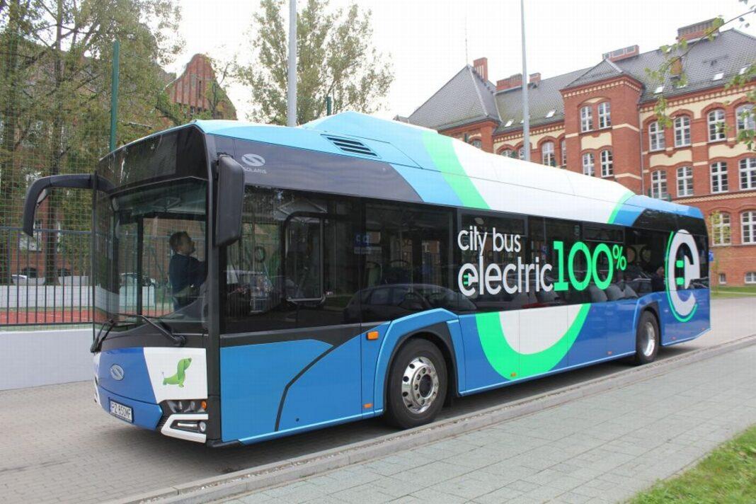 autobusy elektryczne Solaris Szczecin