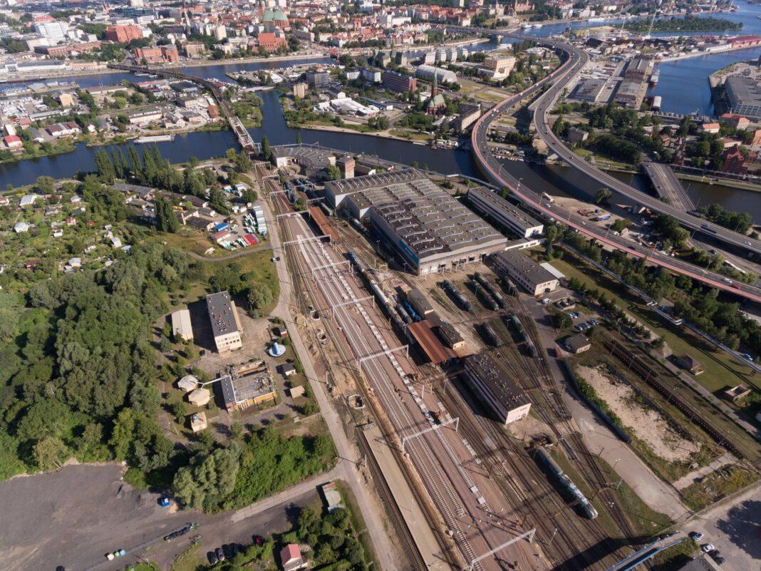dostęp kolejowy port Szczecin Świnoujście inwestycja PKP PLK