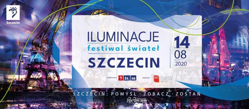 Iluminacje - festiwal świateł - Szczecin