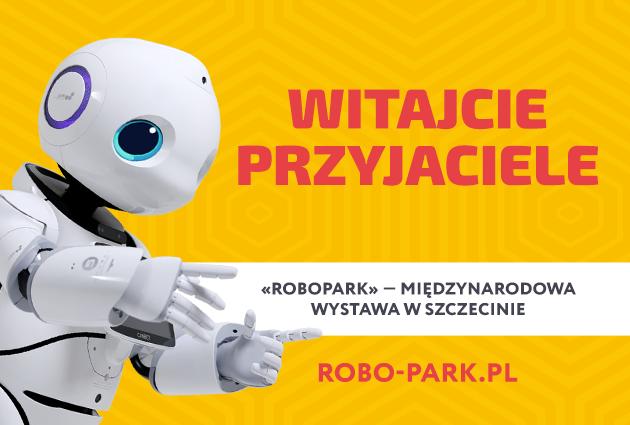 Międzynarodowa wystawa robotów Robopark w Szczecinie