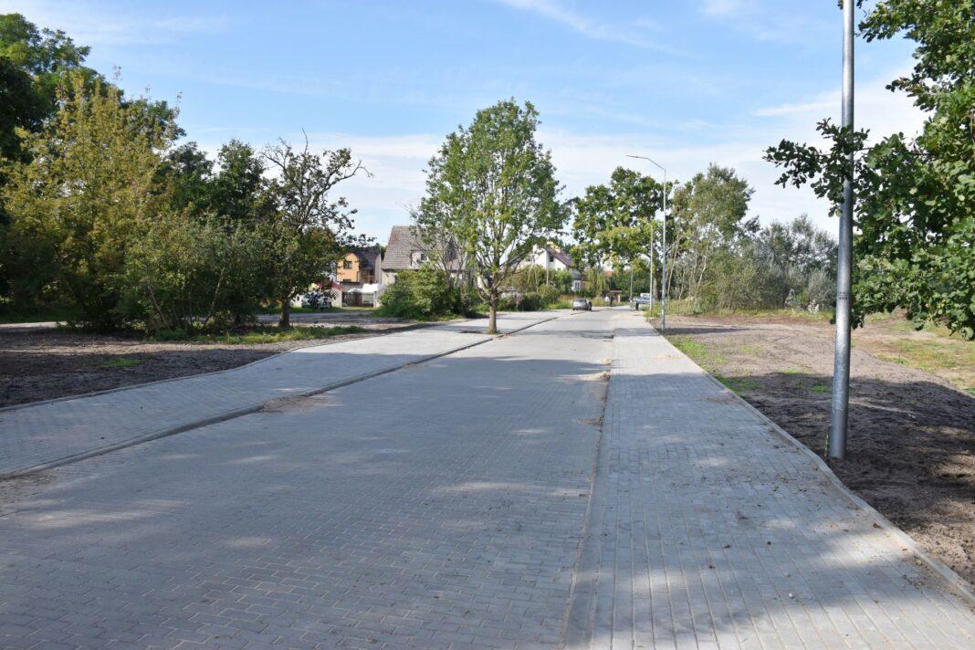 przebudowa ulice Dąbie wrzesień 2020
