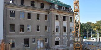 Muzeum Techniki i Komunikacji postęp prac wrzesień 2020