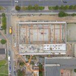 hala basenowa SP 51 postęp prac wrzesień 2020