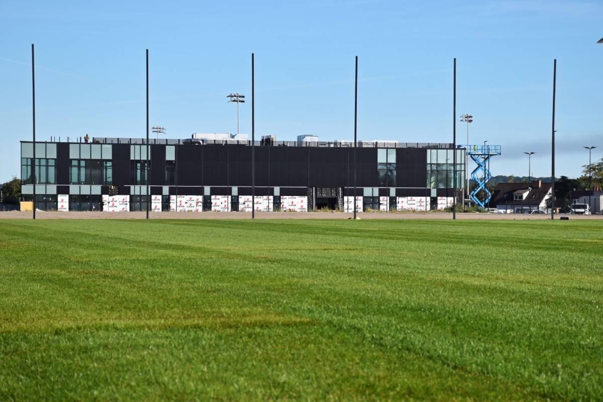 Stadion Miejski wSzczecinie postęp prac wrzesień 2020