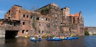 kajakowy eko patrol szczecińska Wenecja śmieci