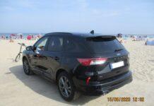 parkowanie plaża Świnoujście mandat