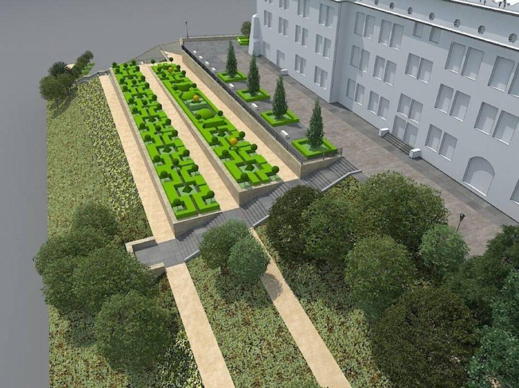 wycinka drzewa północna skarpa Zamek Książąt Pomorskich petycja
