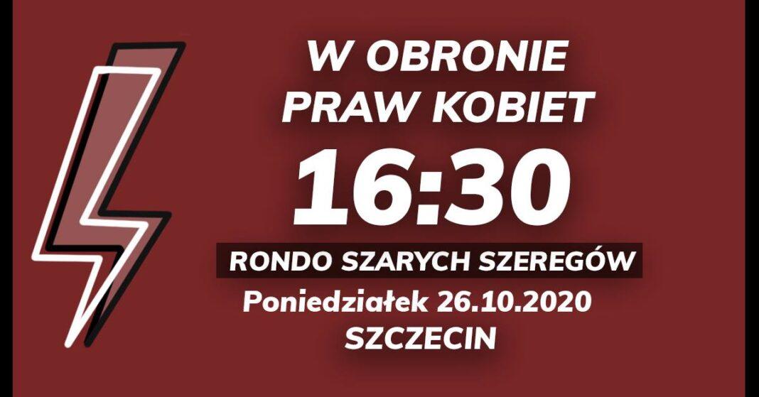 blokada ronda Szarych Szeregów protest kobiety październik 2020
