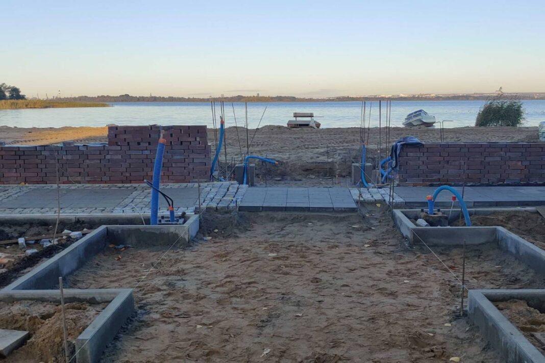 kąpielisko w Dąbiu przebudowa 2020
