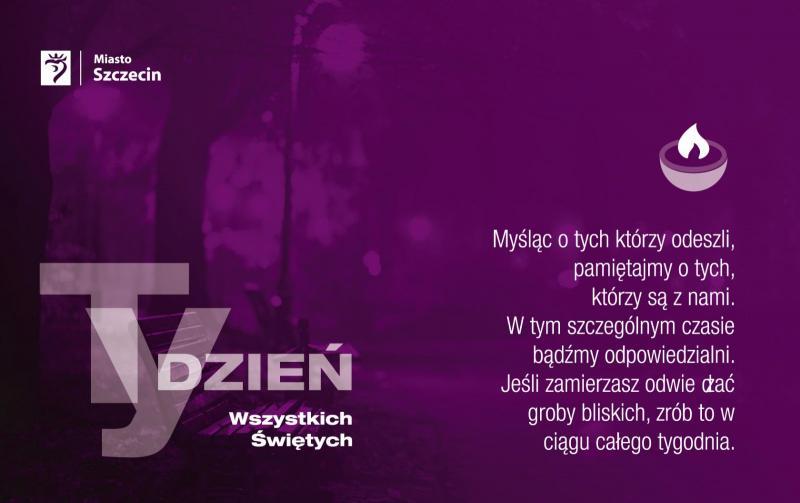 Wszystkich Świętych 2020 Szczecin
