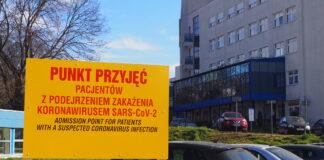 żółta strefa cała Polska październik 2020