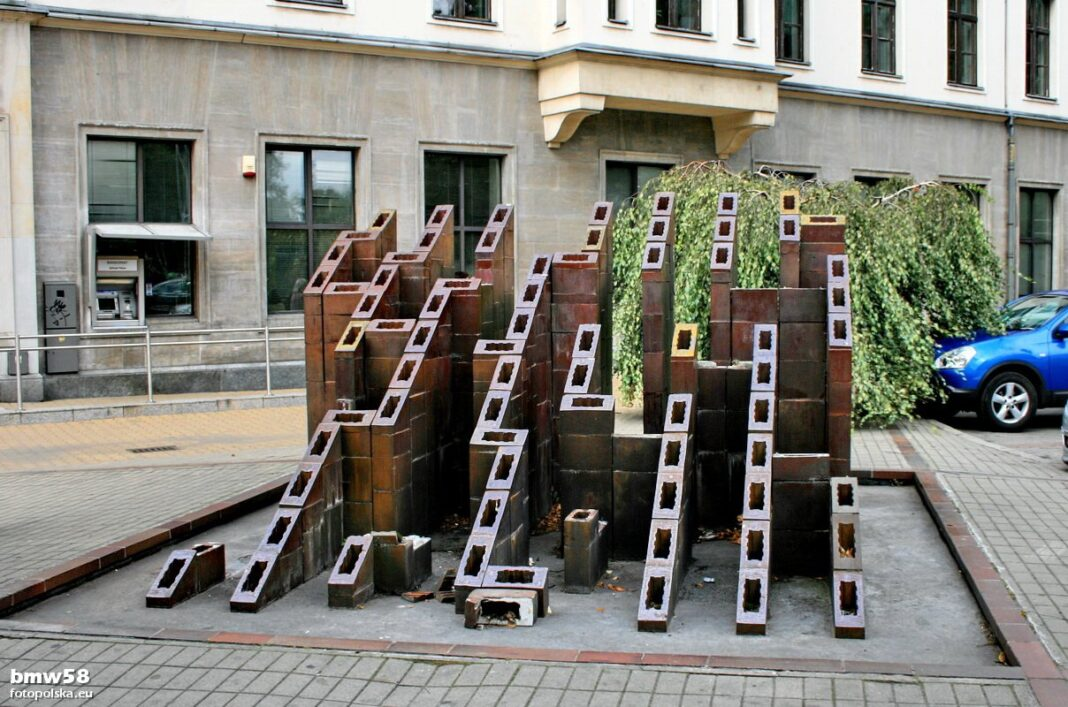 fontanna Labirynt Szczecin remont październik 2020