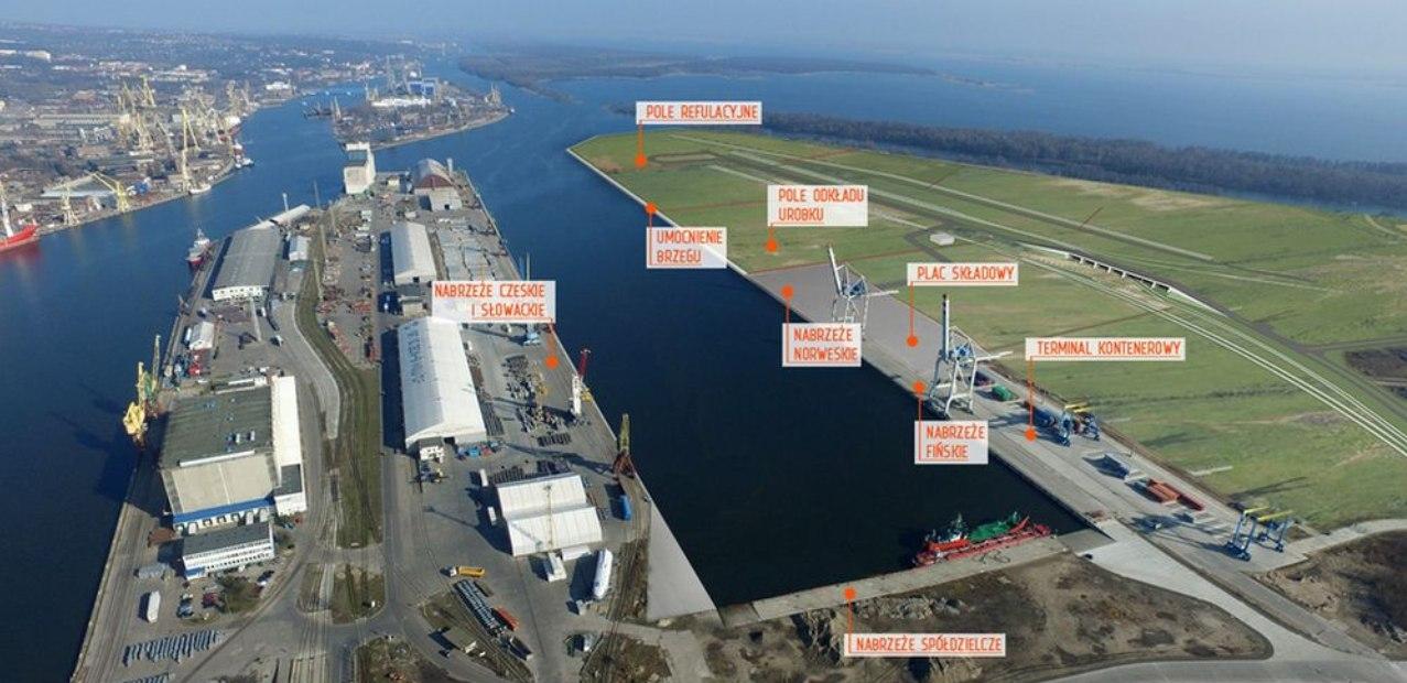 port Szczecin basen kaszubski kanał dębicki inwestycje umowy październik 2020
