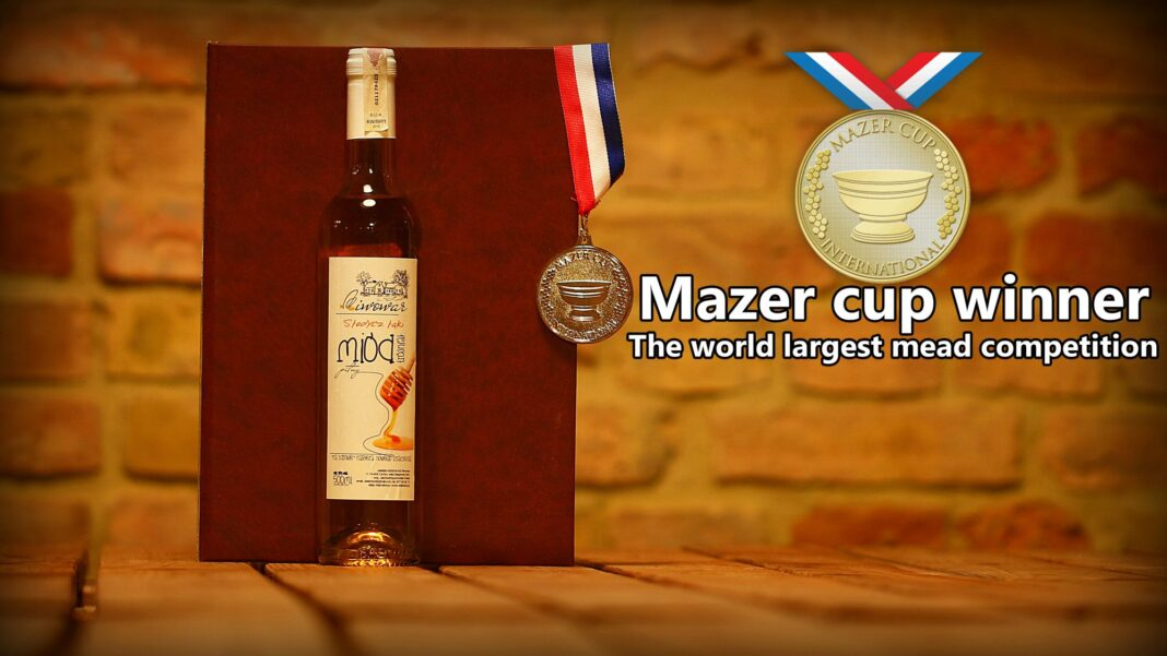 miody pitne Pasieka Dziki Miód medale The Mazer Cup International 2020