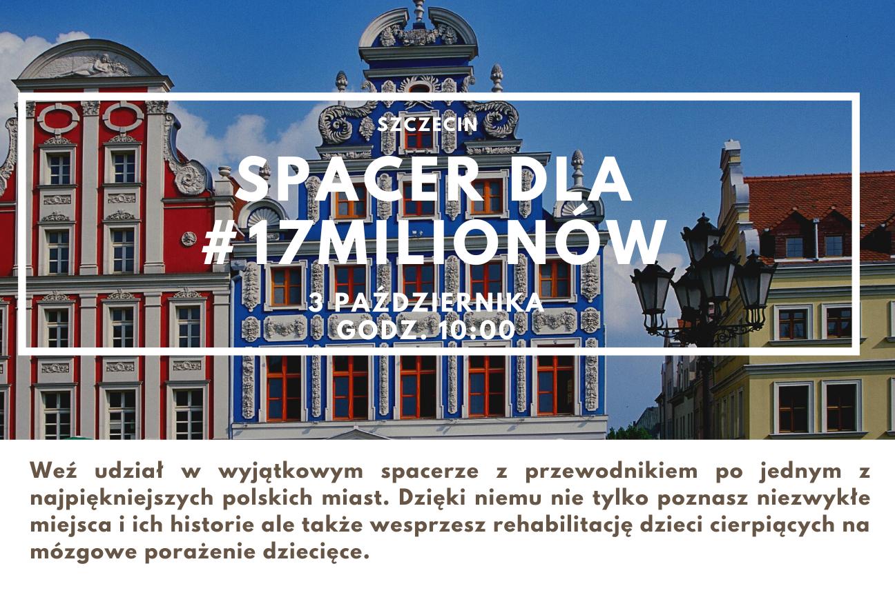 Charytatywny spacer dla #17milionów