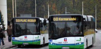 komunikacja miejska północna część Szczecin