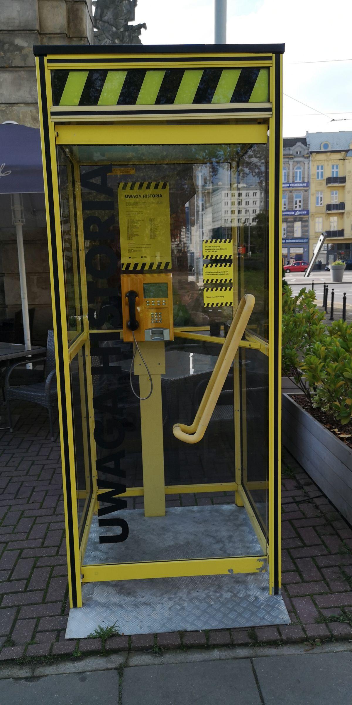 budka telefoniczna Brama Królewska projekt Monika Szpener