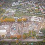 aquapark Fabryka Wody budowa liczby zdjęcia zdrona październik 2020