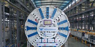 maszyna TBM Świnoujście transport październik 2020