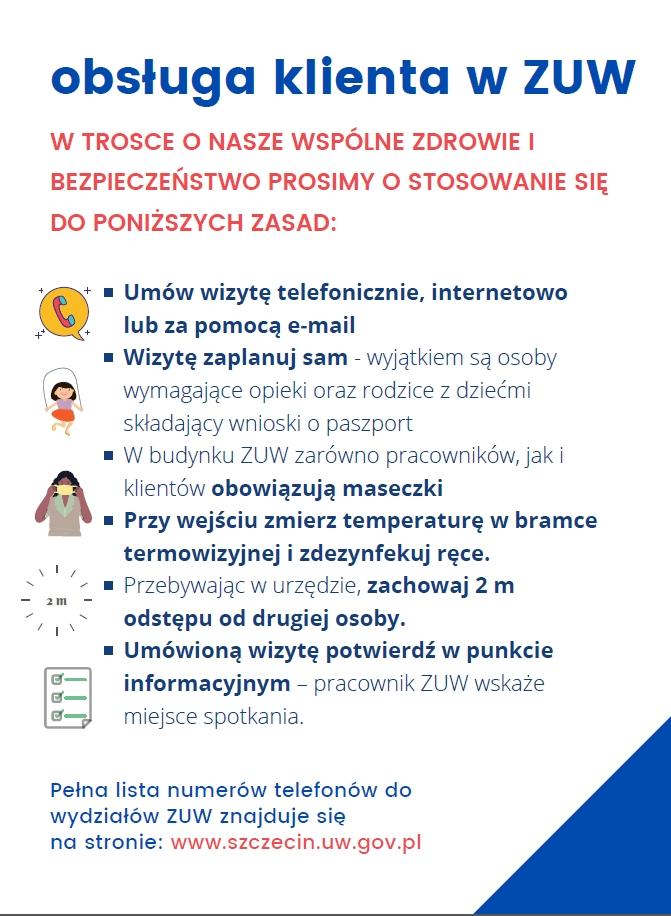 Zachodniopomorski Urząd Wojewódzki praca zmianowa październik 2020