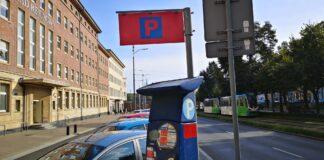 nowe parkomaty Szczecin przetarg październik 2020