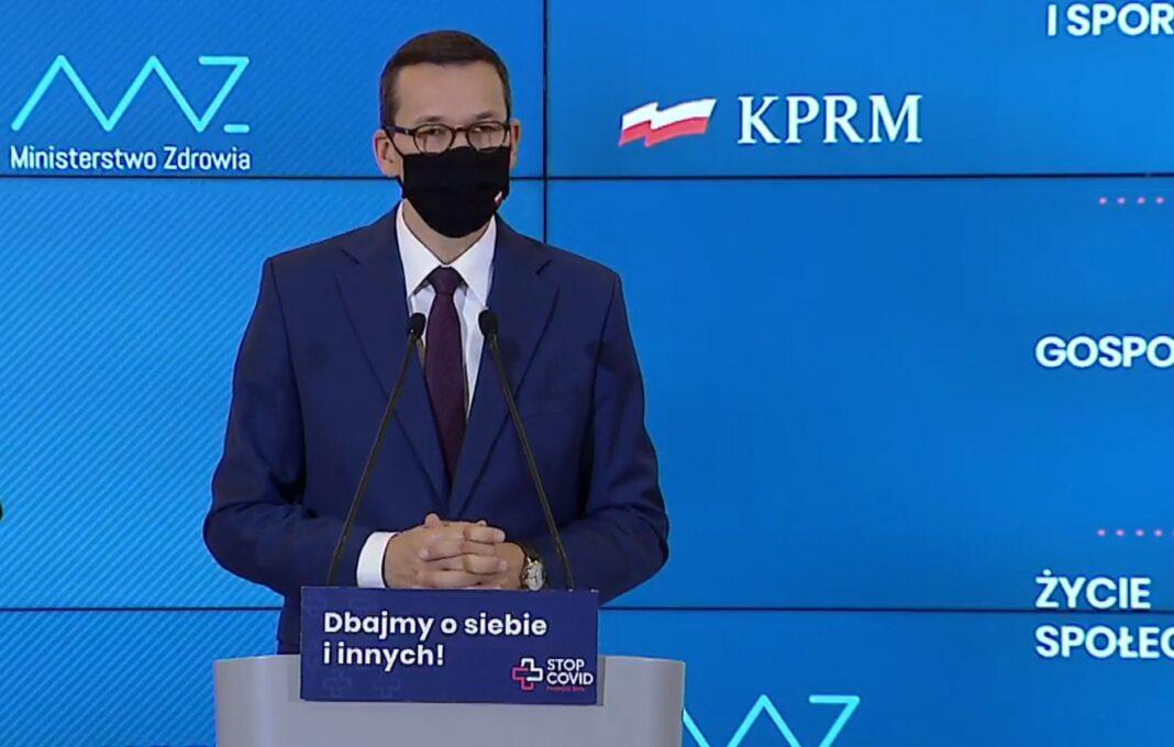 cała Polska czerwona strefa obostrzenia Szczecin październik 2020