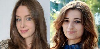 """Nikola Bukowiecka Klaudia Góralska studentki ZUT stypendium """"Nowe Technologie dla dziewczyn"""""""