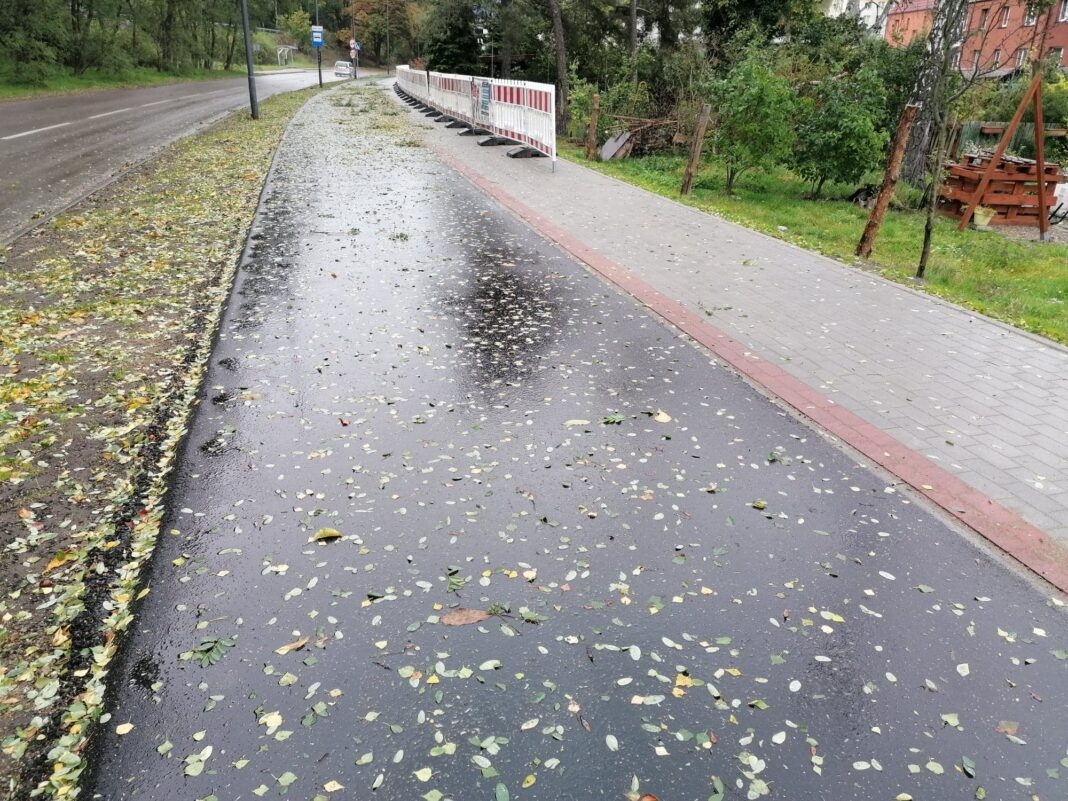 droga rowerowa ul. Barlickiego Świnoujście