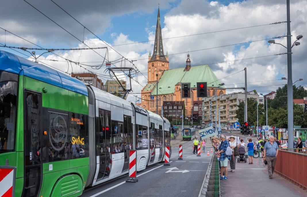 tramwaje prawobrzeże październik 2020