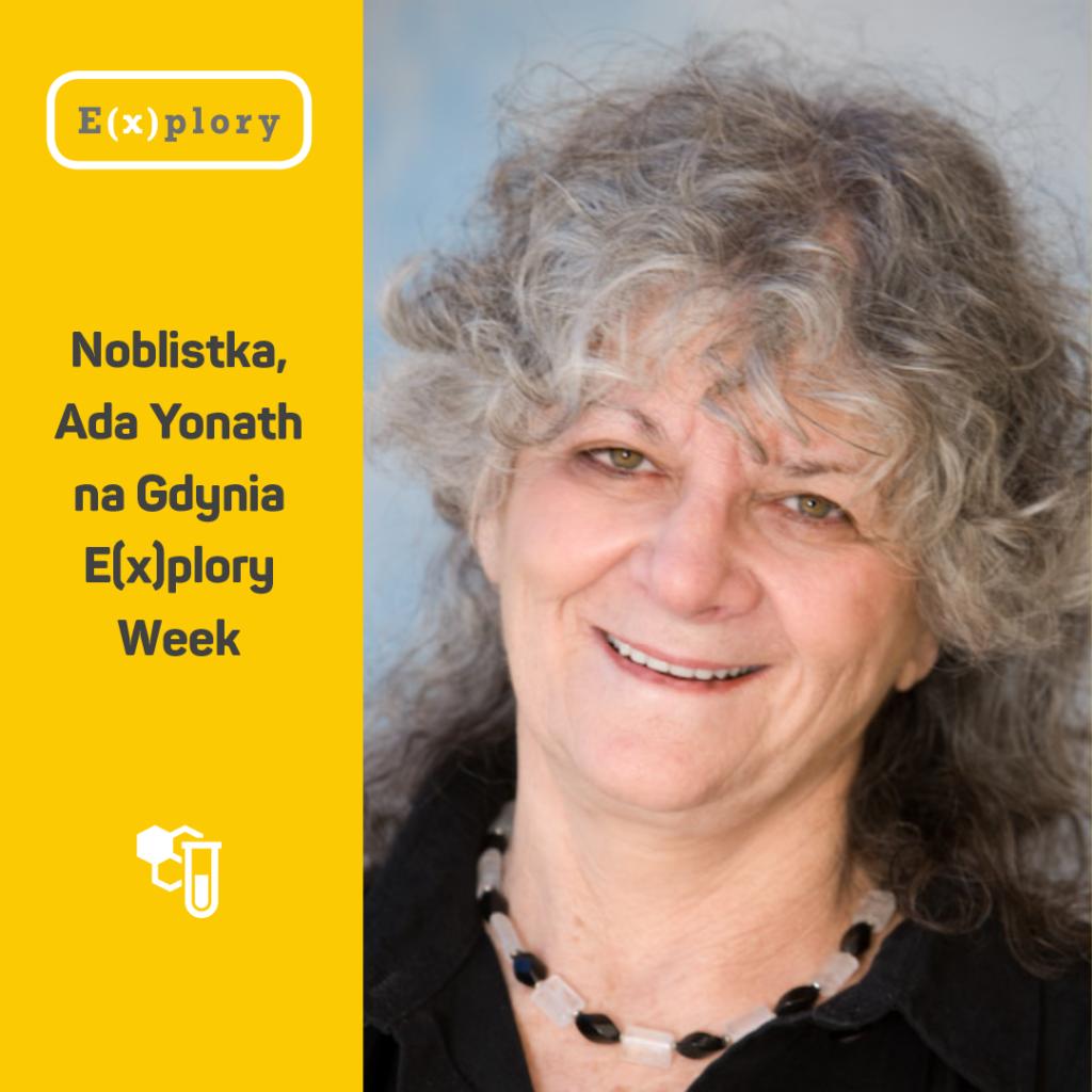 Ada Yonath noblistka gościem Gdynia Explory Week 2020
