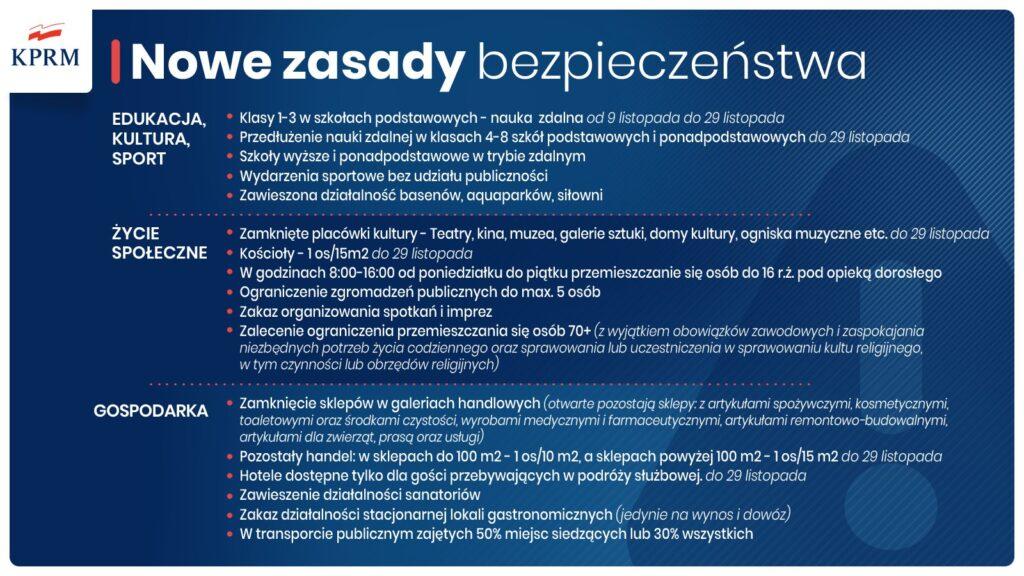 Nowe Zasady bezpieczeństwa KPRM