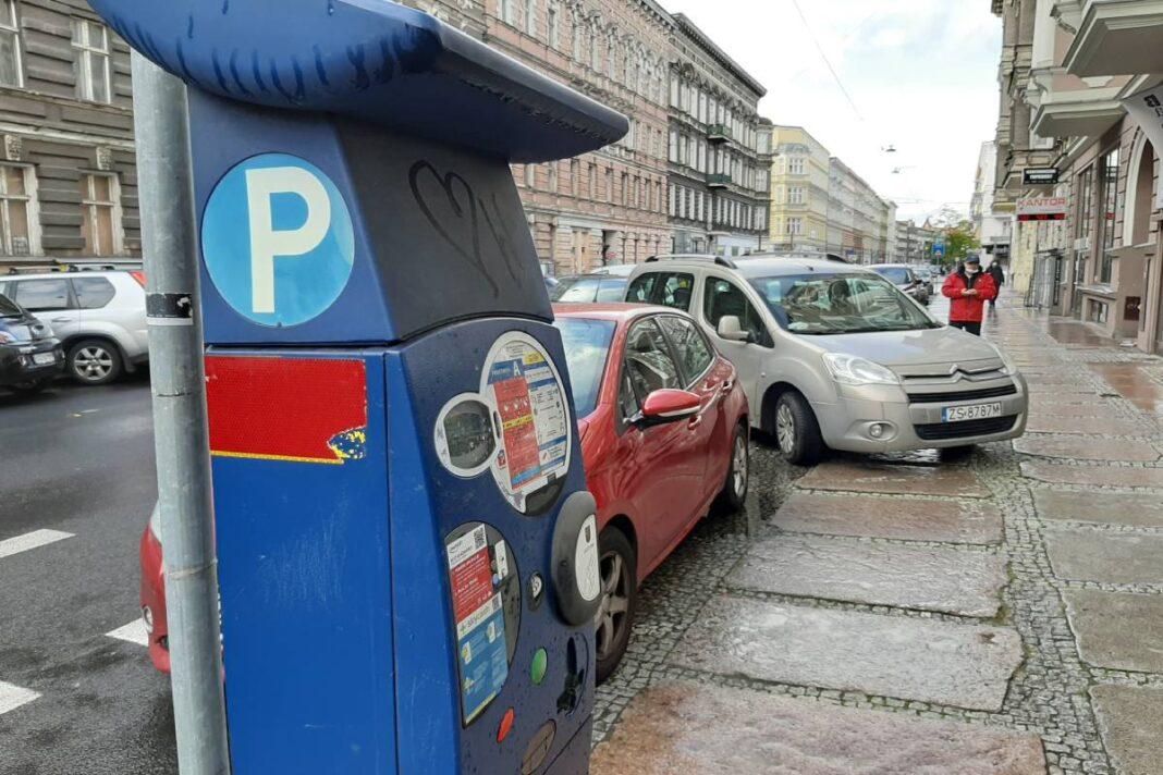 dwie zmiany w Strefie Płatnego Parkowania w Szczecinie listopad 2020