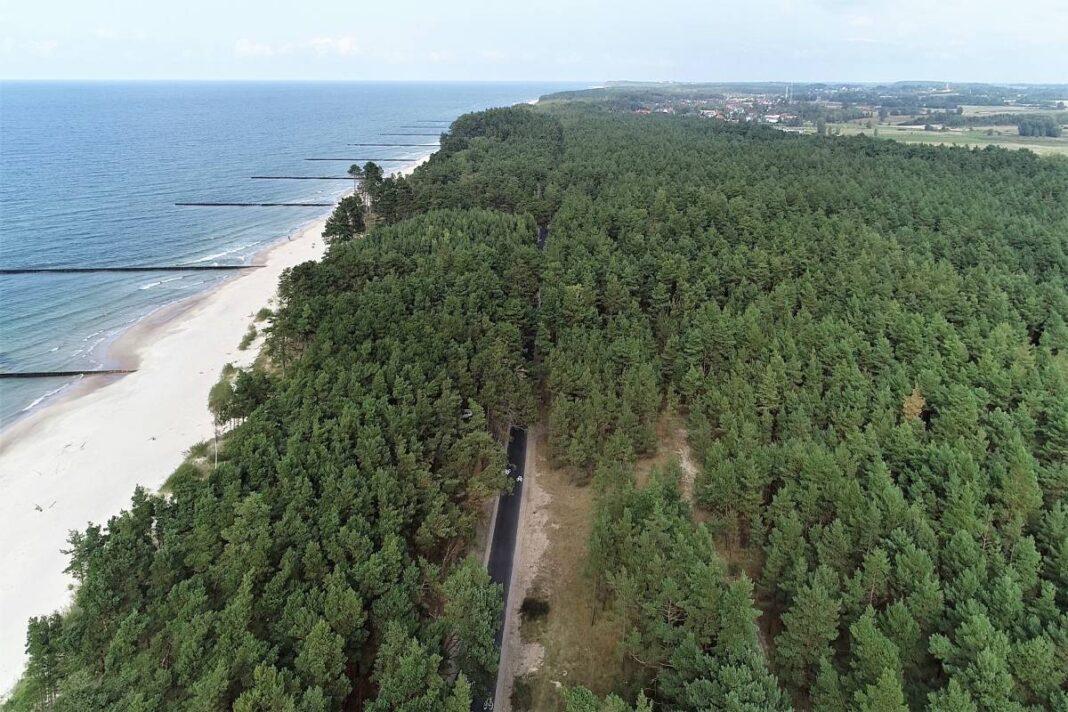 70 oznakowanych kilometrów rowerowej trasy wzdłuż Bałtyku