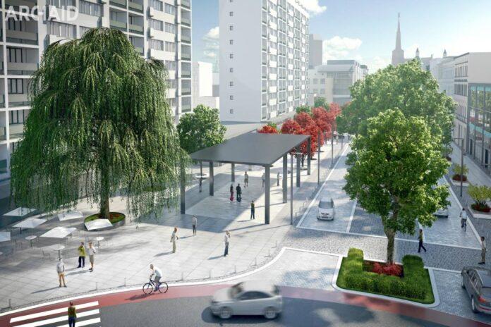 Przebudowa Wojska Polskiego SzczecinAlei Wojska Polskiego Szczecin 2020