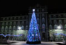 Szczecin stroi się na święta