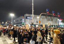 protest kobiet listopad 2020