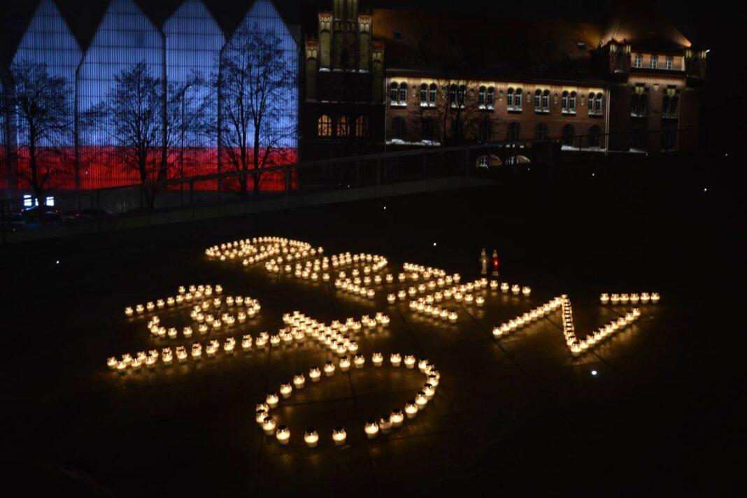 50 rocznica Grudnia 70 światła pamięci Szczecin
