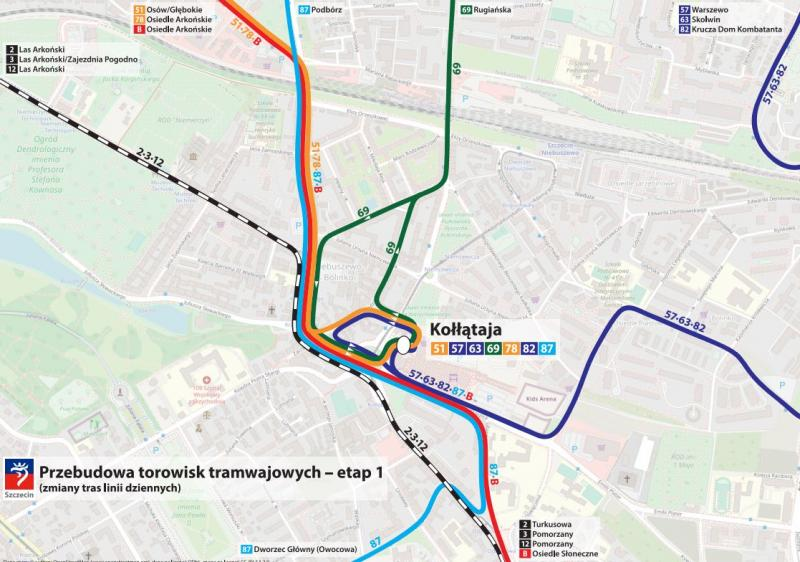 Od 9 stycznia 2021 zmieni się organizacja ruchu na Niebuszewie