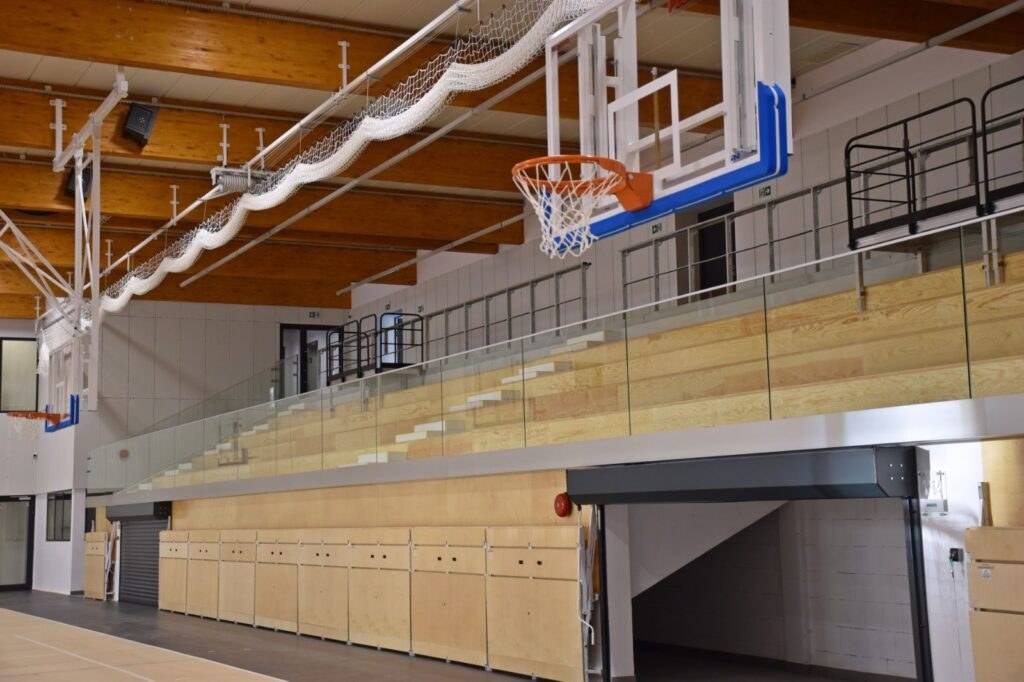 Budowa nowoczesnej hali sportowej przy TME zakończona 2020