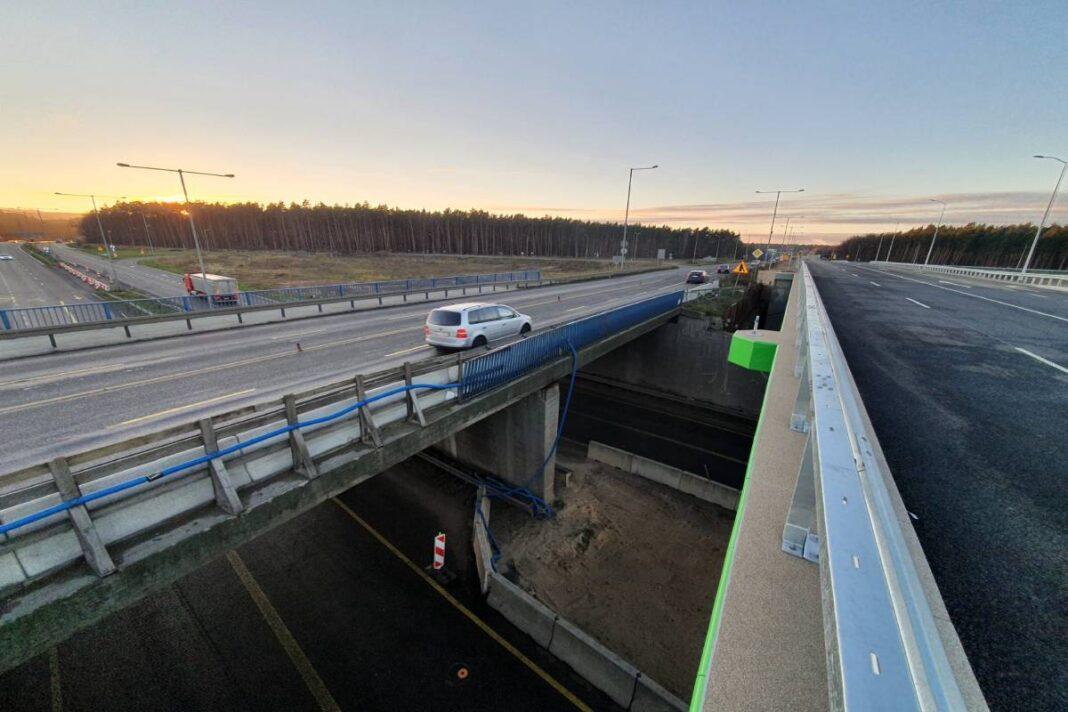 Zmiana organizacji ruchu na węźle drogowym Szczecin Kijewo