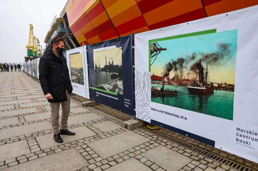 plenerowa wystawa Marka Łuczaka Szczecin 2020