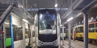 dwukierunkowy tramwaj Szczecin 2020